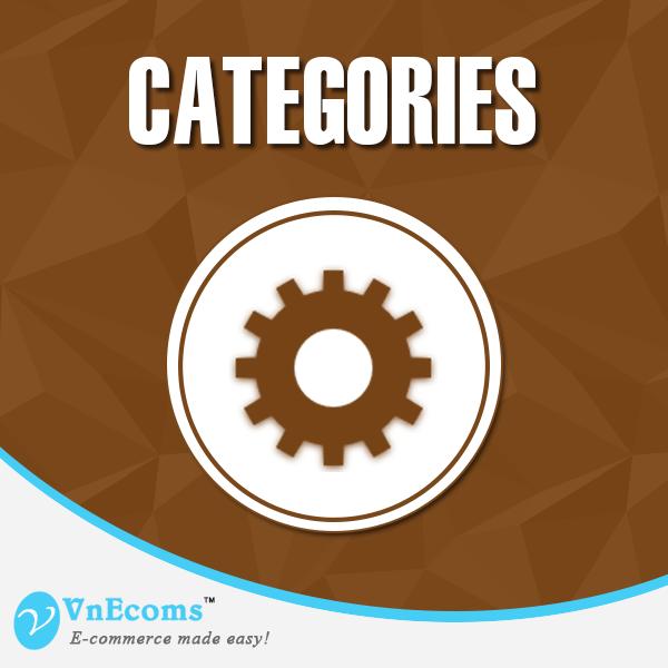 Vendor Categories